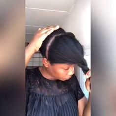 Check out this Cute and Easy hairstyle for Hair - Hair Care Beauty Natural Hair Types, Natural Hair Tutorials, Pelo Natural, Natural Hair Updo, Natural Styles, Natural Beauty, My Hairstyle, Afro Hairstyles, Hairstyles 2016