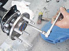 Disc Brakes Axle Stud Plate