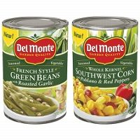 Two New Coupons For Del Monte Tomatoes & Seasoned Veggies!