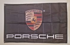 Porsche Logo 3X5 Garage Wall Banner Flag Man Cave Sign Decor Gift FREE SHIPPING #Unbranded