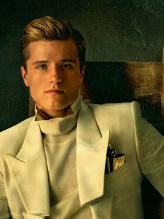 The Hunger Games: Catching Fire -- Peeta. <3