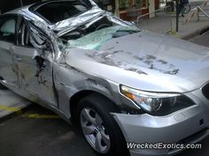 BMW 3-8 Series 5-Series crashed in New York, New York