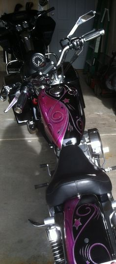 MY Harley Sportster Custom Paint Job