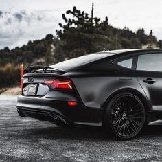 Car Photography, Automotive Photography, Luxury Automotive, Automotive Design, Audi Rs7 Sportback, Black Audi, Fast Sports Cars, Audi A7, Car Goals