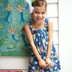 Sis Boom Bettyann - Girls Shift Dress or Top Pattern - PDF Sewing Pattern E-Book
