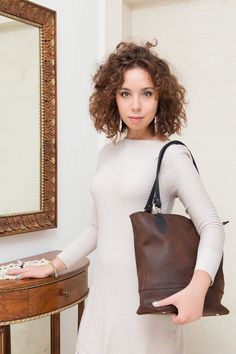 MADE IN ITALY Bag Clutch Women genuine leather by RecordModa