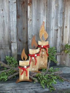 Deko aus holz on pinterest wood concrete and world maps - Adventsdeko aus holz ...