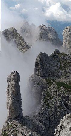 100 anni della Gusela del Vescovà: il 2013 è l'anno del centenario dalla prima #scalata della vetta dolomitica, nel gruppo delle #Dolomiti che sovrastano #Belluno