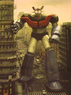 Mazinger Z robot - I grew up with it...