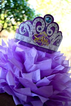 Sofia the First - Once Upon a Princess Party Disney junior purple theme party decor toddler kid girl