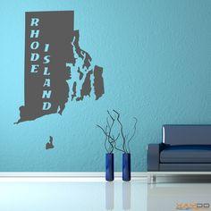 "Wandtattoo ""Rhode Island"" - ab 9,95 € | Xaydo Folientechnik"