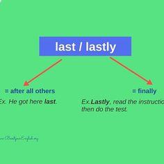 Last vs Lastly #EnglishGrammar #LearnEnglish #CommonMistakes @English4Matura