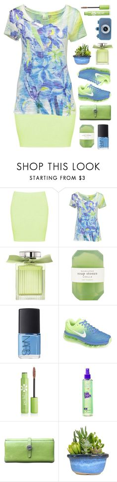 """your fav hair care product is ..."" by tinkertot ❤ liked on Polyvore featuring Boohoo, Barcode Apparel, Chloé, Pelle, NARS Cosmetics, NIKE, Per-fékt Beauty, Garnier and Hermès"