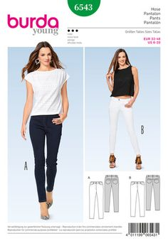 6543 Jeggings Pattern