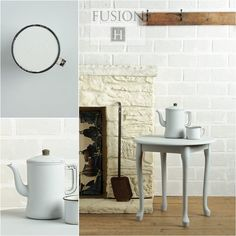 Fusion paint in sterling via My Painted Door (.com)