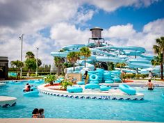 Sun-n-Fun Lagoon Waterpark in Naples, FL.  A must for the kids!