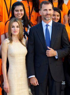Los Príncipes de Asturias inician nuevo curso tras las vacaciones de verano #spain #royals