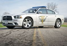 Ohio State Troopers - Dodge Charger Pursuit Police cars