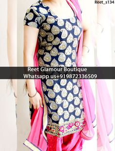 Charming Navy Blue Embroidered Punjabi Suit Product Code : Reet_s134 We Ship All Over World. Color And Style Can Be Customized According To Your Choice And Take 15-20 Days To Make Deliver World-Wide Contact or whats aap us 9872336509 Buy Link : https://www.facebook.com/reetglamourboutique/