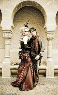 steampunk couples | Steampunk couple