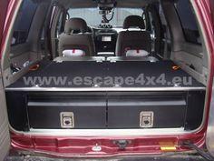 Drawer System Nissan Patrol Y61 GU4 5-doors