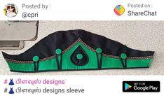 Sleeves Designs For Dresses, Sleeve Designs, Geometry Formulas, Neck Design, Hand Designs, Blouses, Blouse, Woman Shirt, Hoodie