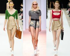 Spring-Summer 2015 fashionable shorts