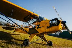 Piper J3 Cub by Benjamin Ballande, via Flickr