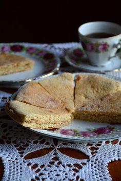 Norwegian sweet lefse (tjukklefser) served on my grandmother's old plate. Old Plates, Norwegian Food, Sweet Butter, Swedish Recipes, Vanilla Sugar, Healthy Cookies, Shortbread Cookies, Trifle, Dessert Recipes
