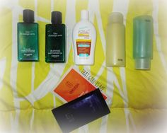My toiletries and cosmetics packing