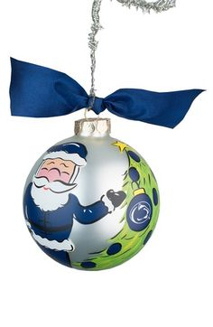 Glory Haus Collegiate Santa Ornament available at #Nordstrom