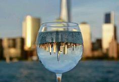Glass Reflection lower Manhattan