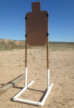 This portable target system can be had for around ten bucks, even less if you're resourceful, and it can liven up your range time substantially.