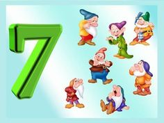 Numbers Preschool, Math Numbers, 7 Seven, Number Matching, Family Guy, Teacher, Content, Writing Papers, Type 1
