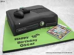 Here's one for any huge gamer an XBOX 360 games console cake http://www.cakescrazy.co.uk/details/xbox360-console-cake-and-controller-8814.html