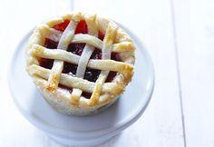 Mini pie ready to eat.