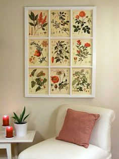Home Made Modern: Summer Mantel and...What to Do With Old Windows