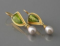 1000+ images about Pearl earrings
