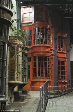 Another view of Diagon Alley from the Sets of the Harry Potter Movies