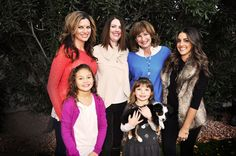 The ladies of the family - photo shoot