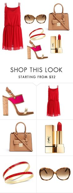"""""""J"""" by jelenadjordjevic-1 ❤ liked on Polyvore featuring Dsquared2, Michael Kors, Yves Saint Laurent, Charter Club and Victoria Beckham"""