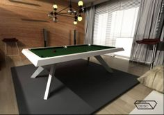 """Konkurs """"Projekt nowoczesnego stołu bilardowego"""" Lissy. Wyróżnienia: Bartosz Lipski, Karol Cyrulik """"Crystal Desc"""""""