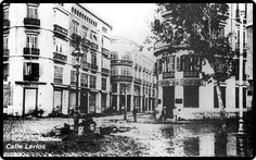 La riá de 1907   Málaga en BlancoyNegro