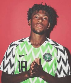6f2fabbfe  alexiwobi rocking Nigeria s 2018 World Cup kit. Although Nigeria didn t  have the