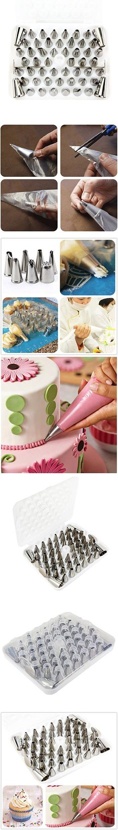 Utilwise Professional Icing Piping Tip 14 Piece Set Cake Decorating New In Box Kitchen, Dining & Bar