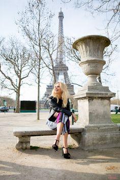 Cristina Ferreira   street Style   Paris   Luis Buchinho Jumpsuit   Casadei Sandals