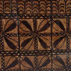 Two SAMOAN TAPA Cloths