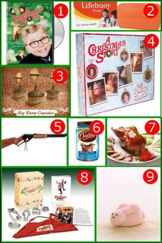 Watch the classic Movie a Christmas story, of course. Make sure to have bars of Lifebuoy red soap in the bathroom. Make leg lamp cupcakes with how-tos and pri… Lego Christmas, Christmas Brunch, Christmas Activities, All Things Christmas, Christmas Time, Christmas Crafts, Christmas Decorations, Xmas, Christmas Story Party Ideas
