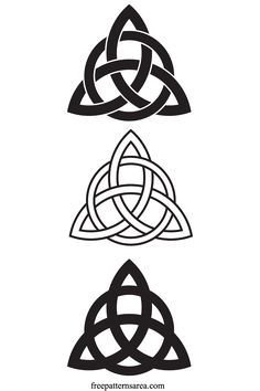 Celtic Triquetra Symbol Jewelry Project – Amazing tattoo patterns and designs Celtic Tattoo Symbols, Celtic Knot Tattoo, Wiccan Symbols, Celtic Tattoos, Viking Tattoos, Wiccan Tattoos, Indian Tattoos, Celtic Tattoo For Women, Mayan Symbols