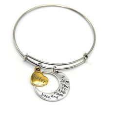 Mystic River Online Love You to the Moon & Back Bracelet